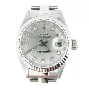 Rolex Ladies Oyster Perpetual Datejust EUC